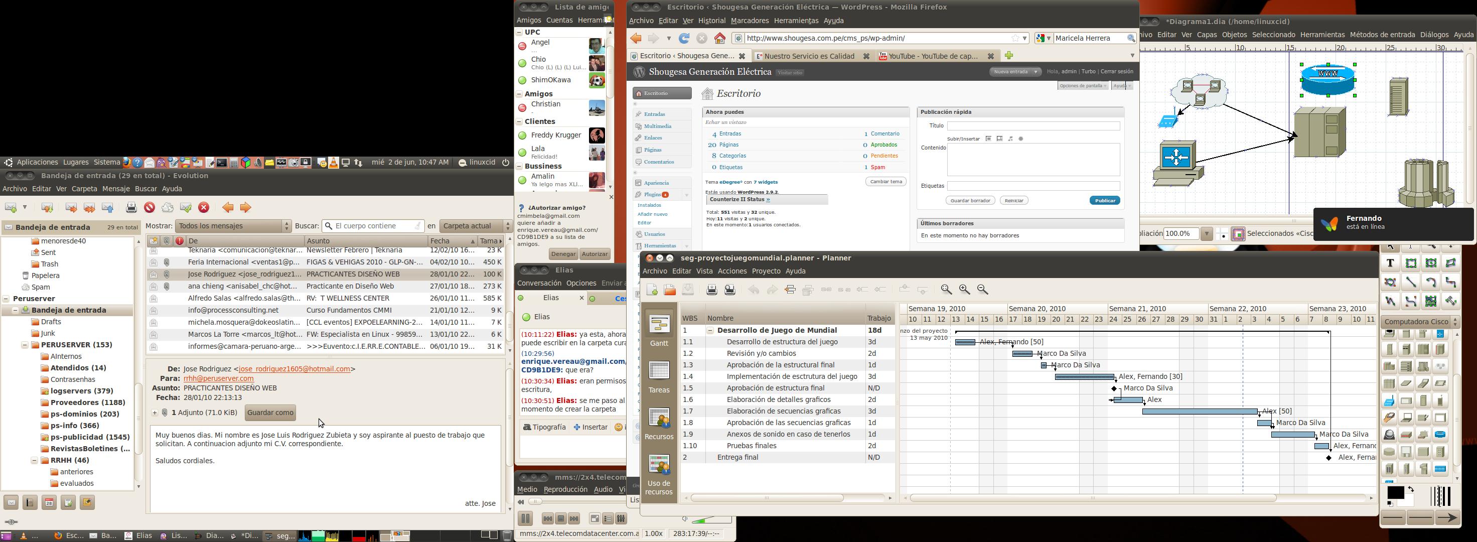 Tizona Desktop