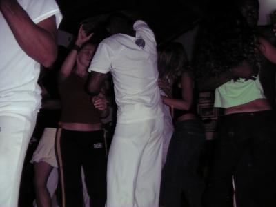 bailando forró en la academia