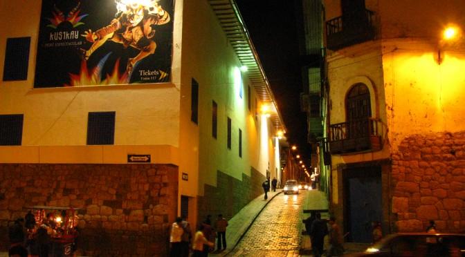 Dos gigantes de Cusco