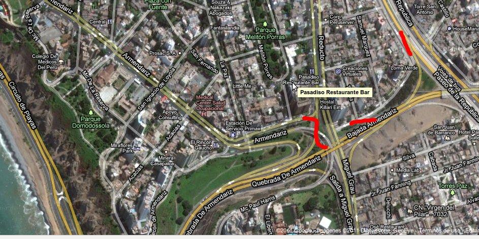Combatiendo el Trafico de autos en Miraflores